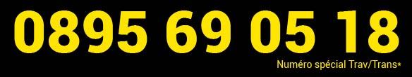Numéro de telephone rose trans